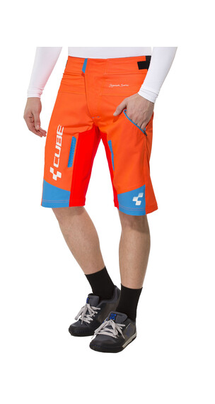 Cube Action Signature Shorts Herren flashred'n'black'n' blue